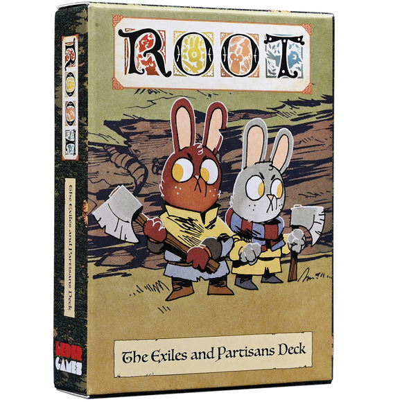 Root: Exiles and Partisans Deck