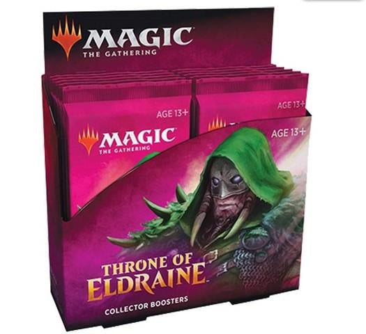 MTG Throne of Eldraine Collector Boosters