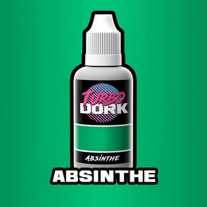 Turbo Dork Absinthe Metallic Acrylic Paint - 20ml Bottle - Game State Store