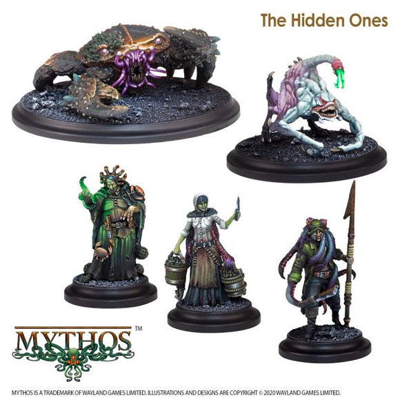 Mythos The Hidden Ones Faction Starter Set - Game State Store