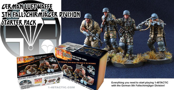 German Luftwaffe 5th Fallschirmjager Division Starter Set - Game State Store