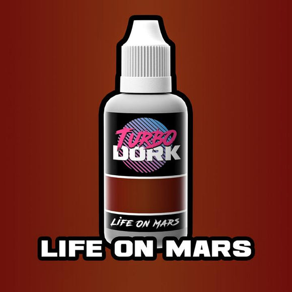 Turbo Dork Life On Mars Metallic Acrylic Paint - 20ml Bottle - Game State Store