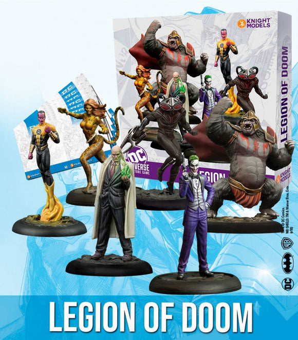 Legion Of Doom - Game State Store