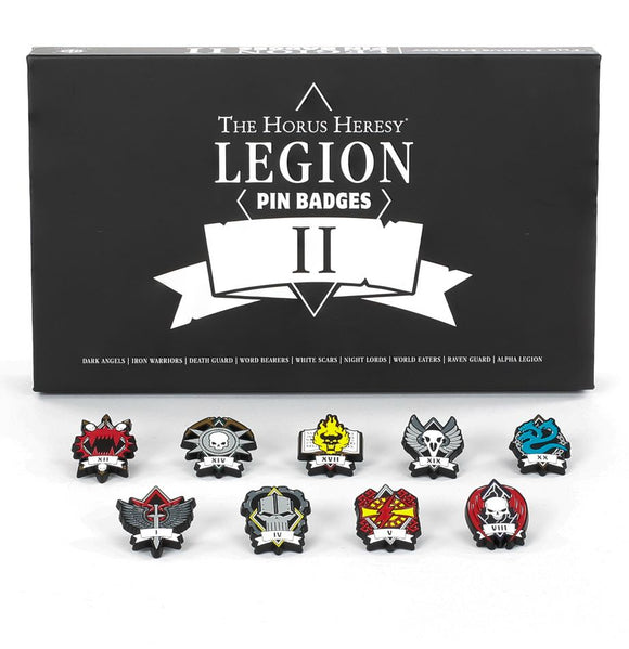 WH Special Releases The Horus Heresy: Legion Pin Badges II