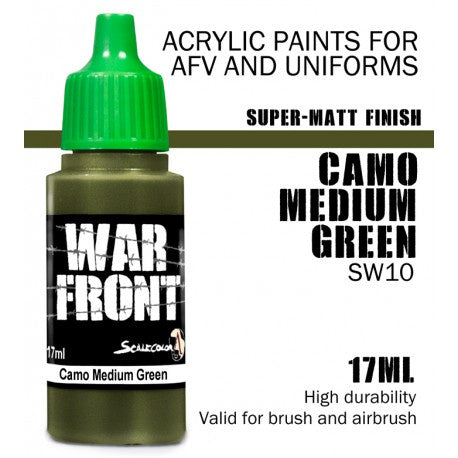 SW SS CAMO MEDIUM GREEN 17 mL - Game State Store