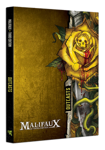 Outcast Faction Book - M3e Malifaux 3rd Edition - Game State Store