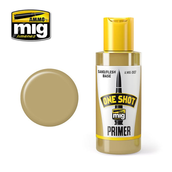 AMMO MIG ONE SHOT PRIMER SAND FLESH