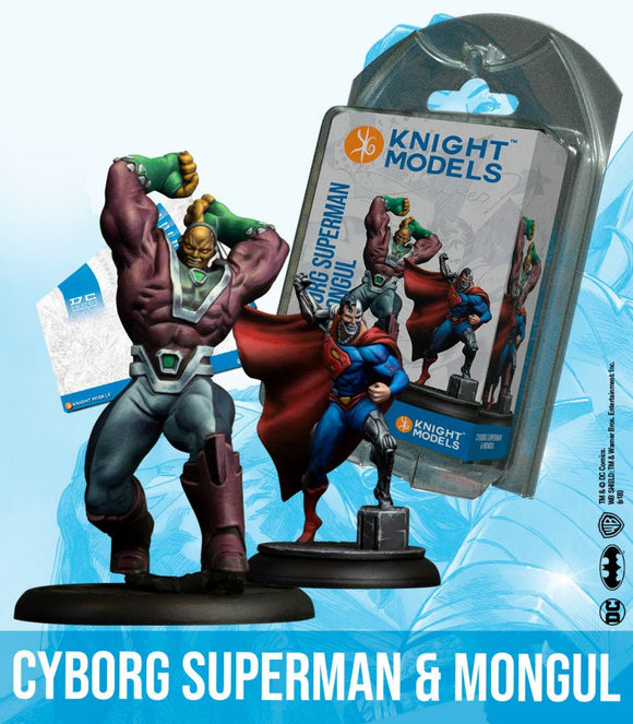 Cyborg Superman & Mongul - Game State Store