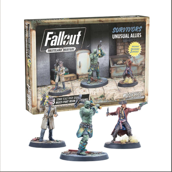 Fallout: Wasteland Warfare - Survivors: Unusual Allies