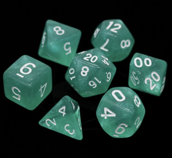 Die Hard Dice RPG Set - Hakuro w/ White