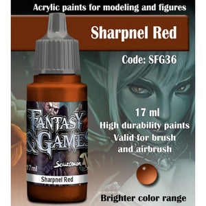 SFG SHARPNEL RED 17 mL - Game State Store