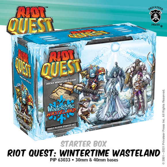 Riot Quest Wintertime Wasteland Starter Box (Resin)