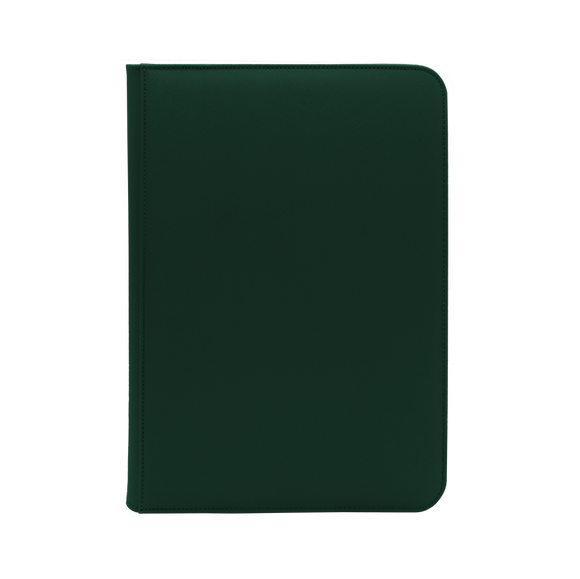Dex Zipper Binder 9 - Green