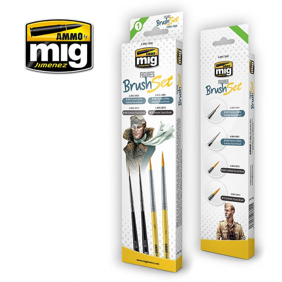 AMMO By MIG Figures Brush Set
