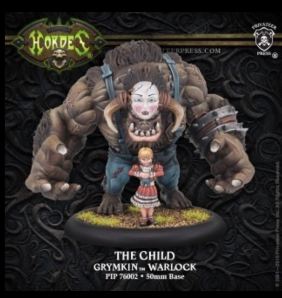 The Child – Grymkin Warlock (resin/metal)