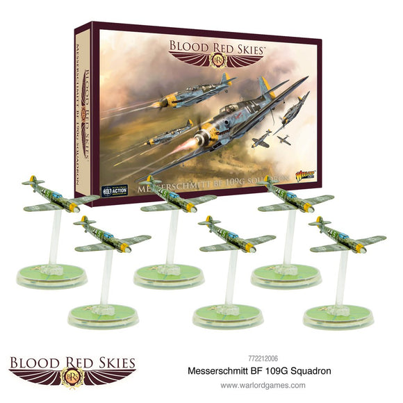 Messerschmitt Bf 109G Squadron - Game State Store