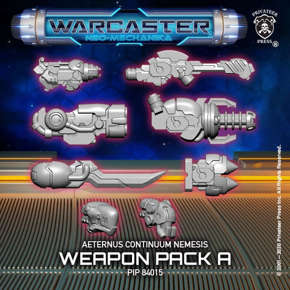 Warcaster Aeternus Continuum Nemesis A Weapon Pack