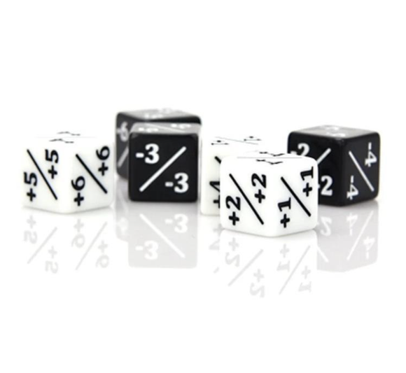 Die Hard Dice MTG Power/Toughness Counters