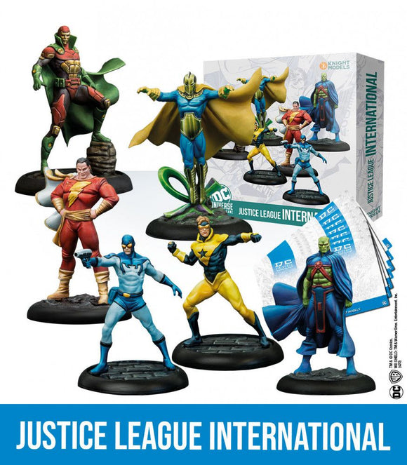 Justice League International - Game State Store
