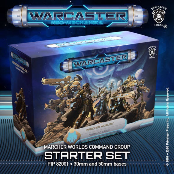 Warcaster Marcher Worlds Command Group Starter Set