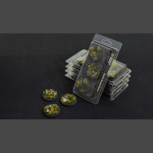 Battle Ready Bases: Highland RoundLip 50mm (x3) - Game State Store