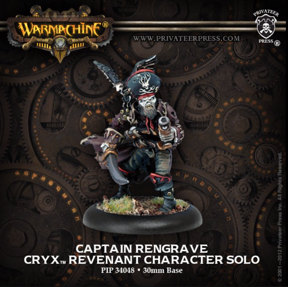 Captain Rengrave - Cryx Revenant Character Solo