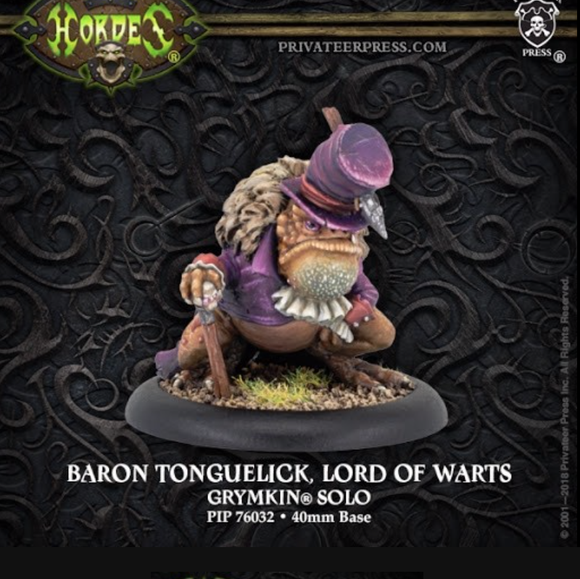 Baron Tonguelick, Lord of Warts