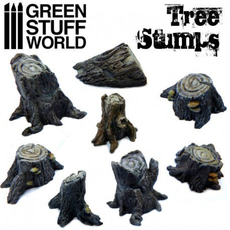 GSW - Tree Stump Resin Set