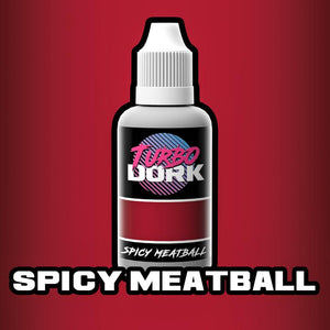 Turbo Dork Spicy Meatball Metallic Acrylic Paint - 20ml Bottle - Game State Store
