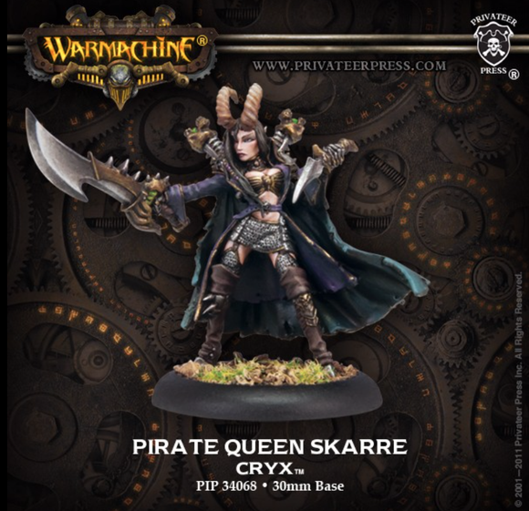 Pirate Queen Skarre - Cryx Warcaster