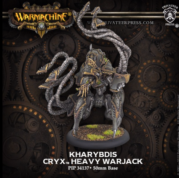 Kharybdis - Cryx Heavy warjack (metal/resin)