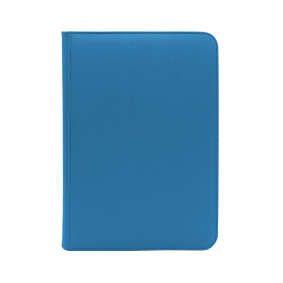 Dex Zipper Binder 9 - Blue