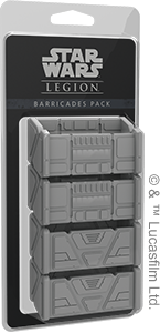 Star Wars Legion Barricades Pack - Game State Store