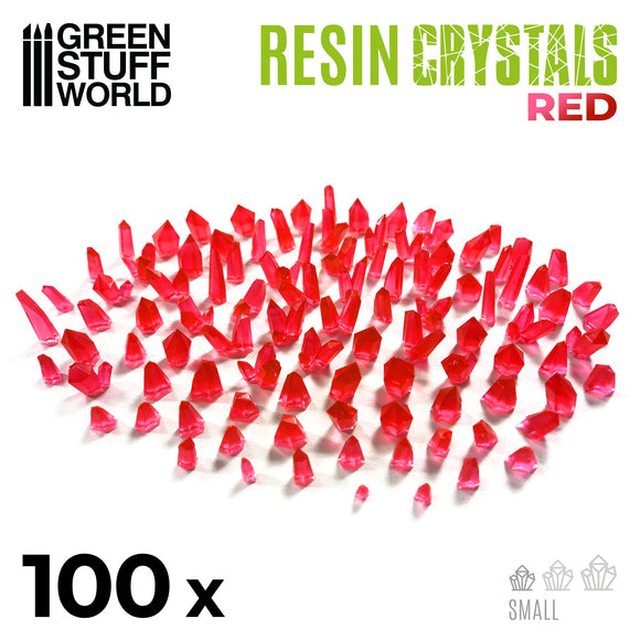 GSW - Small Red Crystals Resin Set