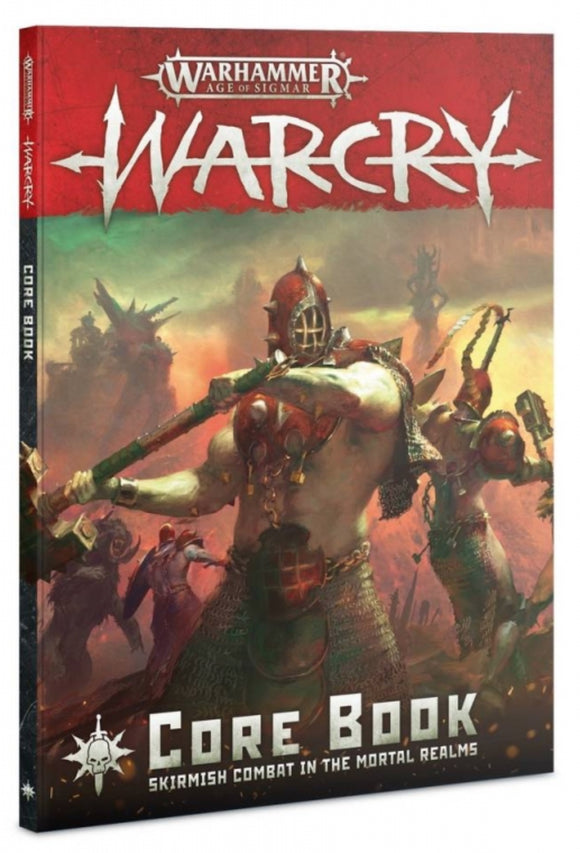 AGE OF SIGMAR: WARCRY CORE BOOK (ENG) - Game State Store