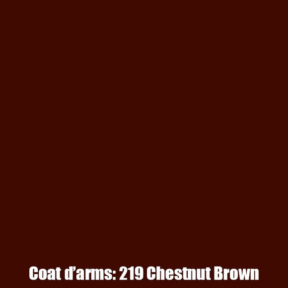 219 - Chesnut Brown Coat D'Arms