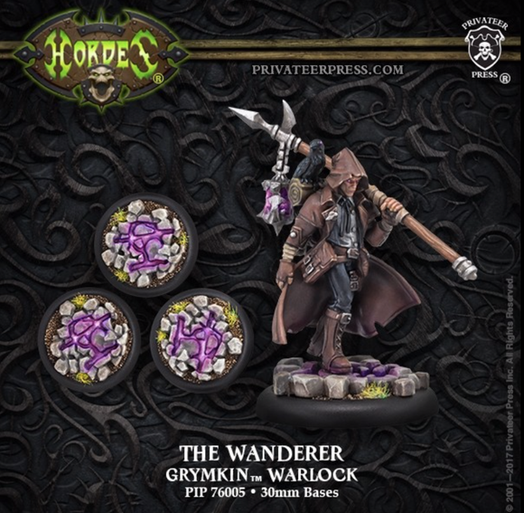 The Wanderer – Grymkin Warlock (resin/metal)