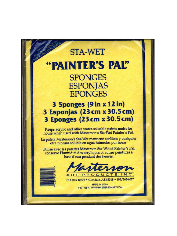MASTERSON SPONGE FOR 912 3 SPONGES (PAINTER PAL)