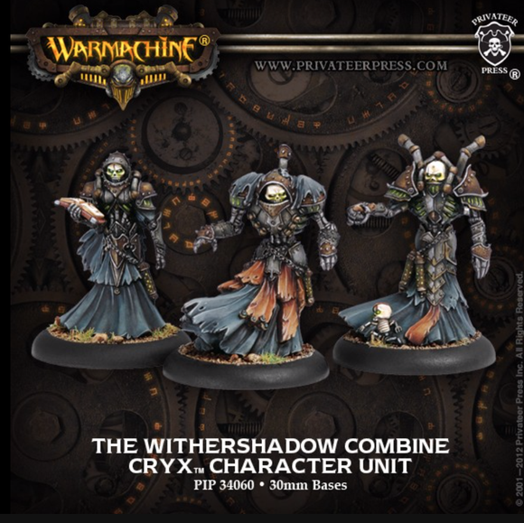 The Withershadow Combine - Cryx Character Unit
