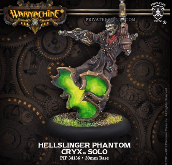 Hellslinger Phantom  Cryx Solo (metal/resin)