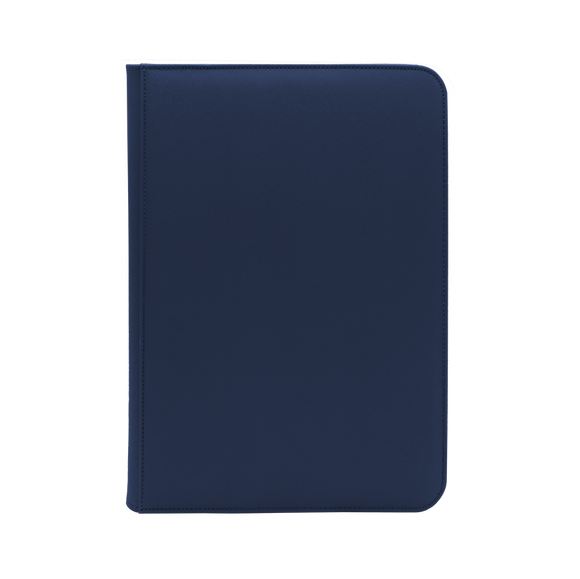 Dex Zipper Binder 9 - Dark Blue