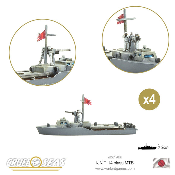 IJN T-14 class MTB - Game State Store