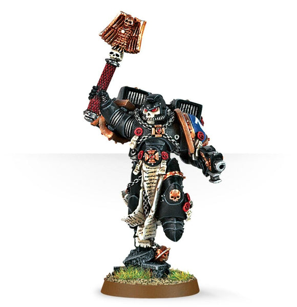BLOOD ANGELS CHAPLAIN WITH JUMP PACK - Game State Store