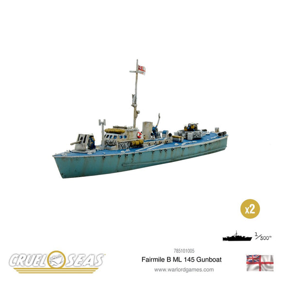 Cruel Seas: Fairmile B ML 145 Gunboat - Game State Store
