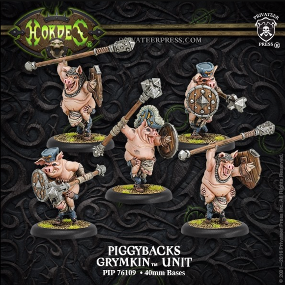 Piggybacks – Grymkin Unit (plastic)