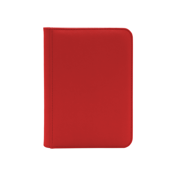 Dex Zipper Binder 4 - Red