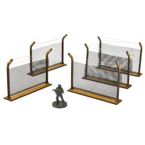 Chain-Link Fences MDF Scenery Set - Game State Store
