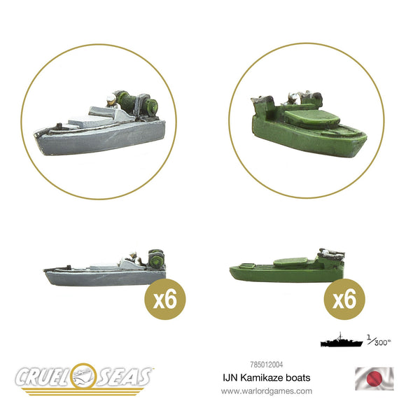 IJN Kamikaze Boats - Game State Store