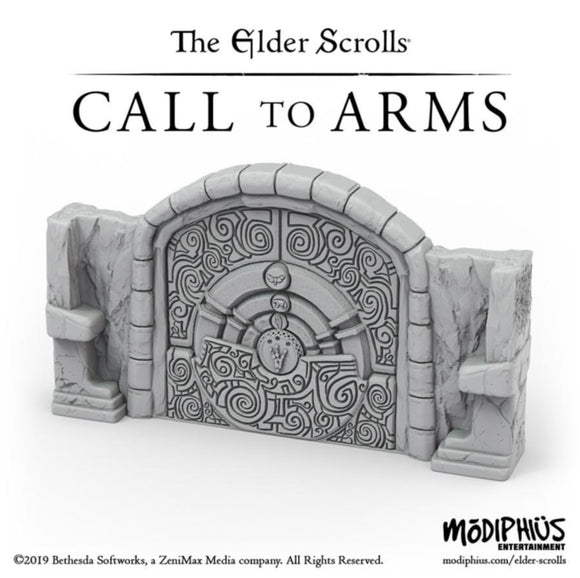The Elder Scrolls Call to Arms - Puzzle Door Terrain Set
