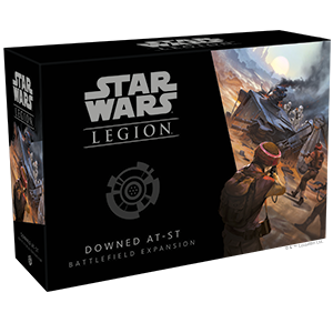 Star Wars Legion Downed AT ST Battlefield Expansion - Game State Store
